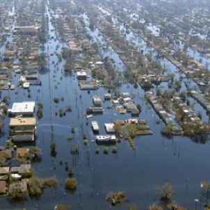 New Orleans flooding after Hurricane Katrina