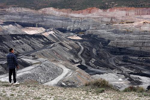 fossil fuels coal mine