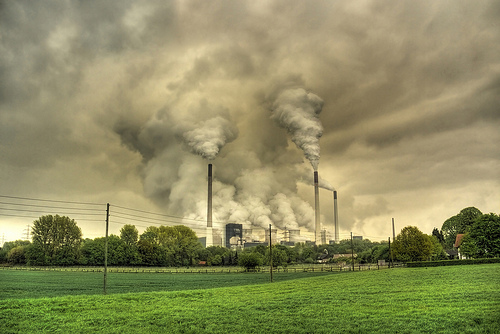 coal power plant photo by derguy6