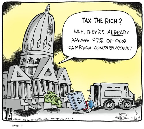 tax the rich - millionaires