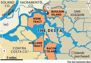 delta islands being grabbed up for the water rights