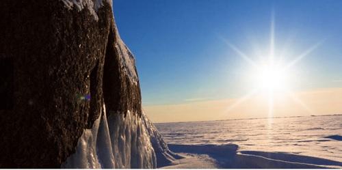 arctic climate impact assessment sea ice photo