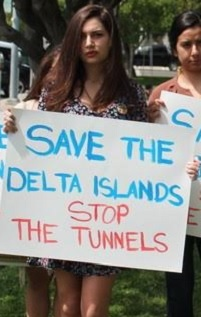 stop the delta tunnels photo by dan bacher