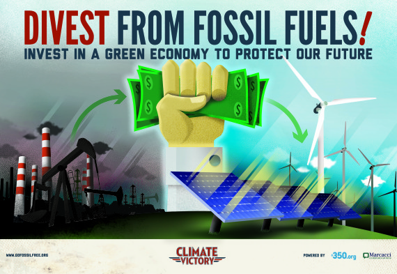 institutions and banks divest from fossil fuels