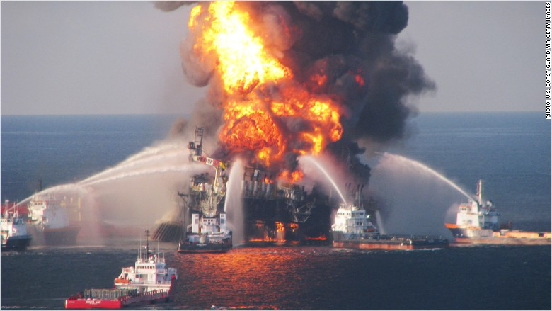 BP deepwater horizon oil disaster