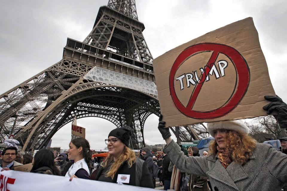 paris climate agreement no trump