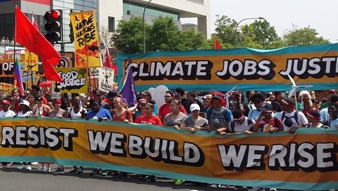 people's climate movement and sierra club's beyond coal campaign support the Paris Climate Agreement
