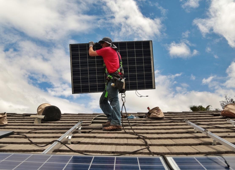solar city roof installation tesla