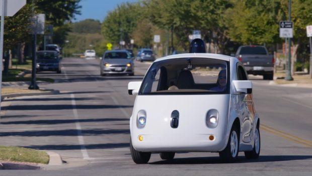 Honda self-driving vehicle