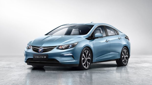 Buick Velite 5 extended range electric vehicle