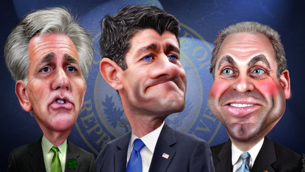 House GOP leadership by DonkeyHotey