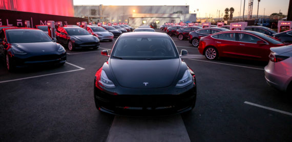 Tesla model 3 first deliveries