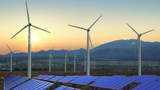 baseload power from wind and solar by Cleantech