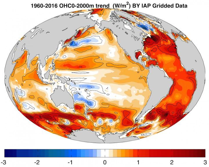 oceans warming rapidly by CHENG Lijing
