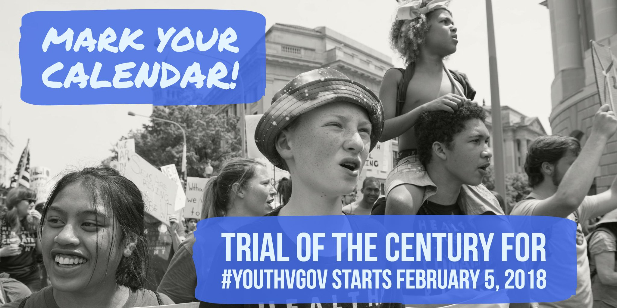 YouthVGov Children's Climate Lawsuit gets trial date feb 5