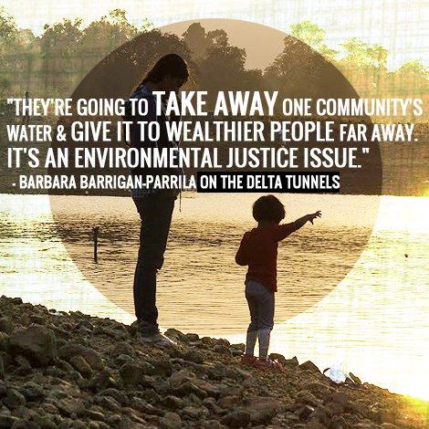delta tunnels waterfix environmental justice