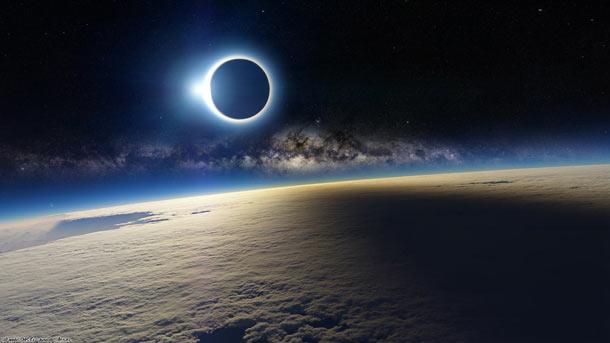 fake eclipse