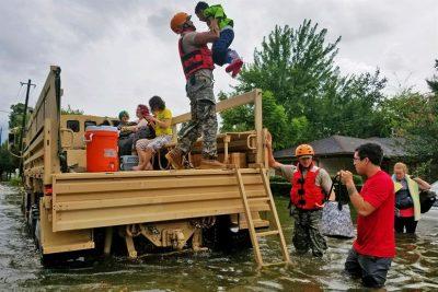 hurricane harvey via defense.gov
