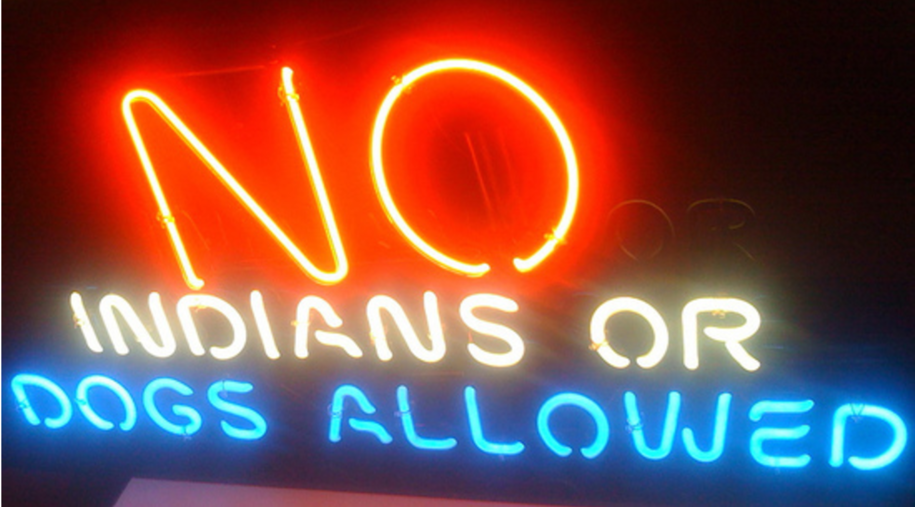 Non Indians or dogs. Image by winter rabbit