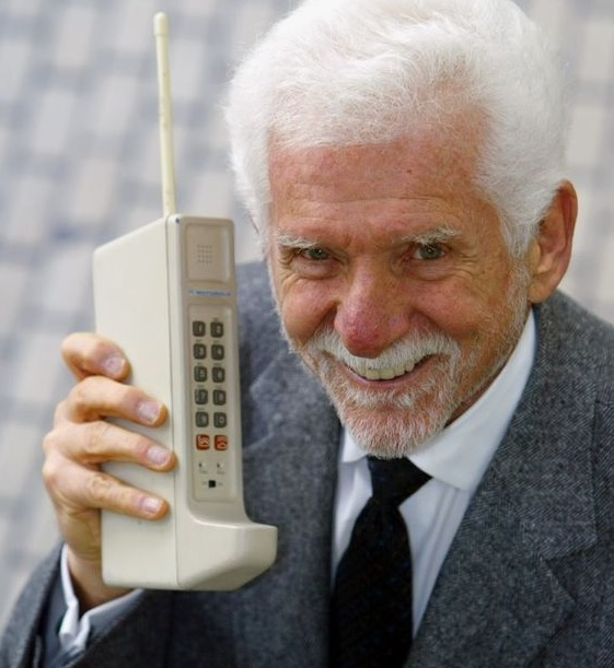 Old cell phone tech. Like the Tesla, it took a while to catch on