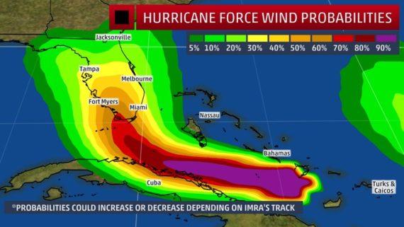 Hurricane Irma makes landfall in Southwest Florida Sunday