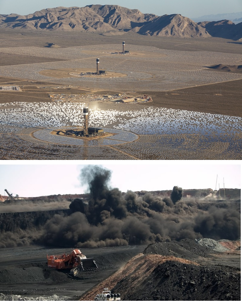 Ivanpah solar vs Powder River coal. Which one is the best use of public lands?