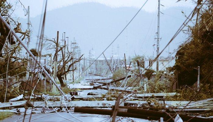 puerto ricor smashed by hurricane Maria