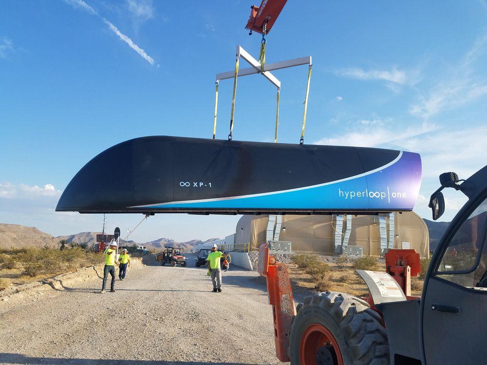 Elon Musk's Hyperloop one pod
