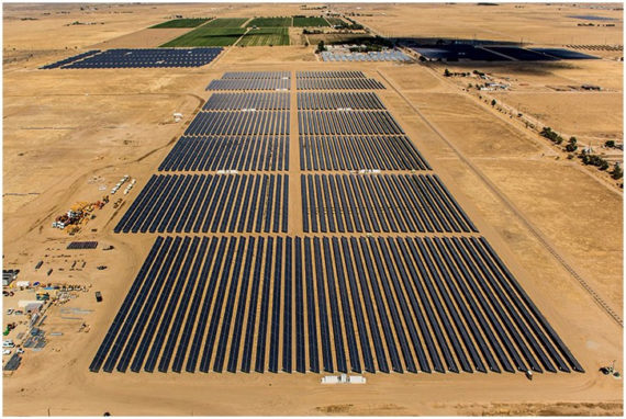 Lancaster Solar power plant by sPower