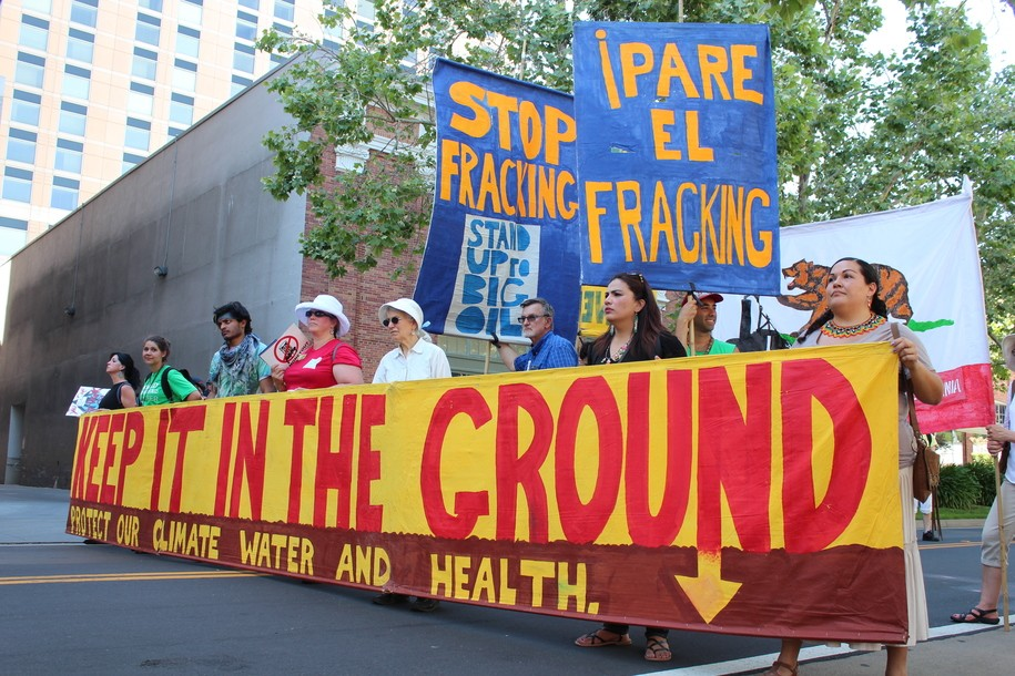 Keep it in the ground vs big oil