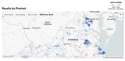 virginia election 2017 democratic shift