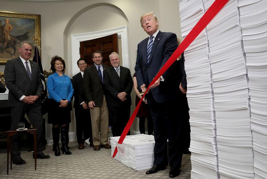 trump cuts regulations