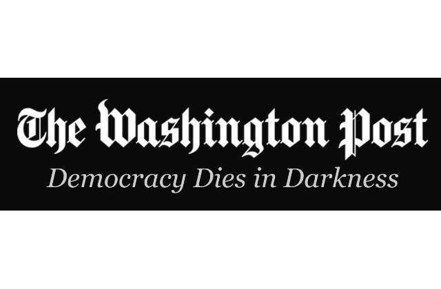 """Washington Post """"Democracy Dies in Darkness"""""""