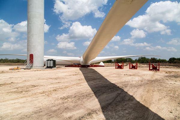 Texas wind farm Photo:Apex Clean Energyvia Facebook.