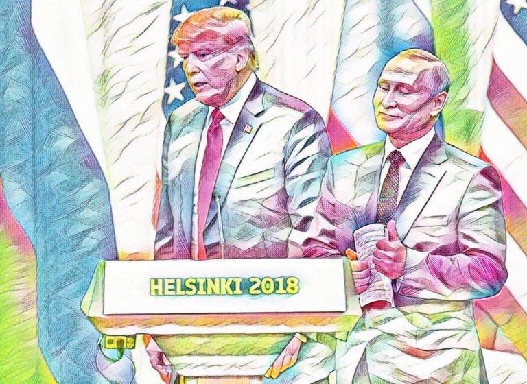 Trump Putin big oil vs renewable energy
