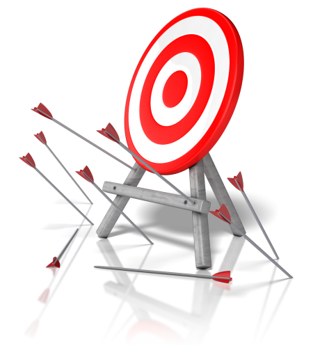 Missing the target on climate change from clipart-library.com