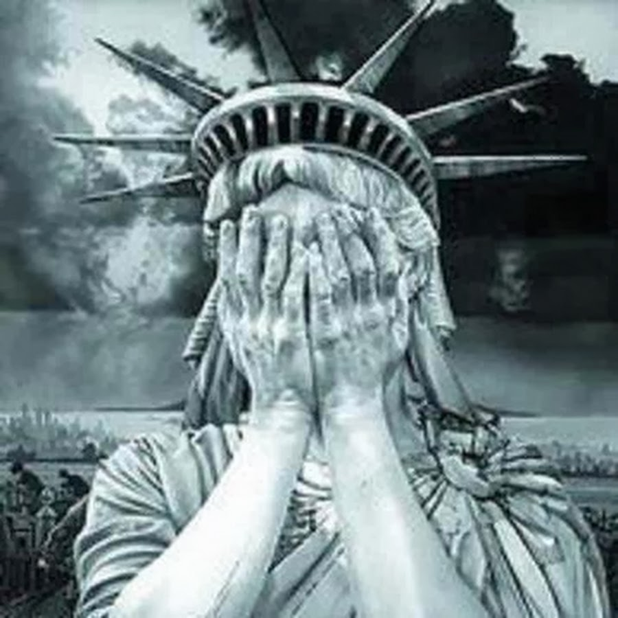 NYC liberty weeps