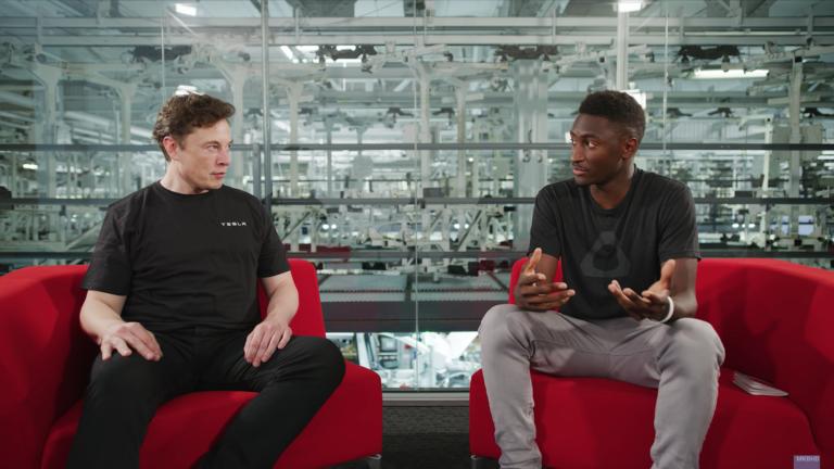 Elon Musk MKBHD interview