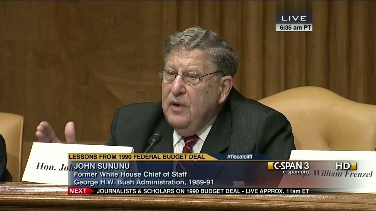 John Sununu, friend of big coal, climate skeptic