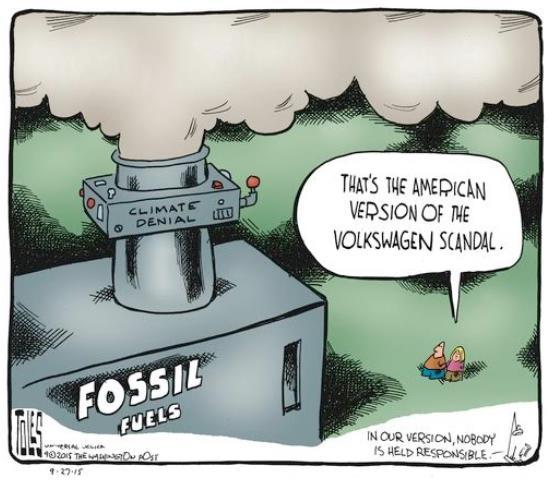 Tom Toles Climate Change denial