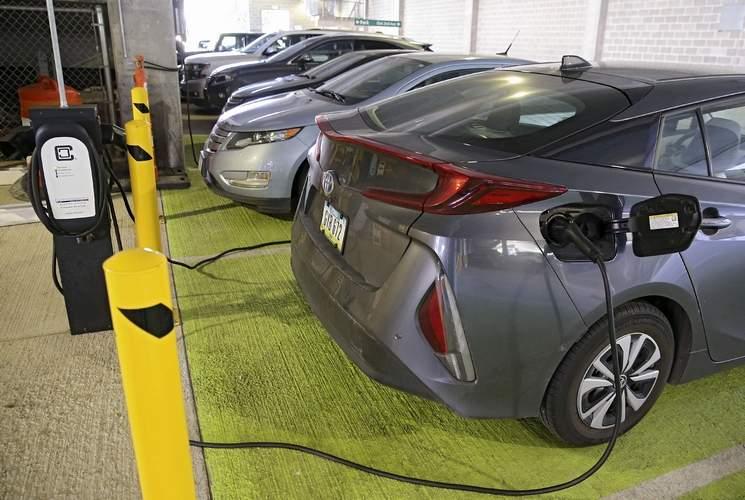 EV chargers in Iowa