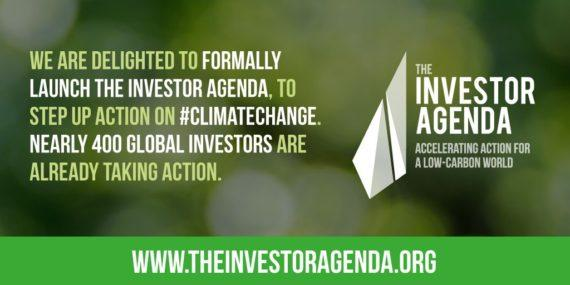 Climate change Investor Agenda