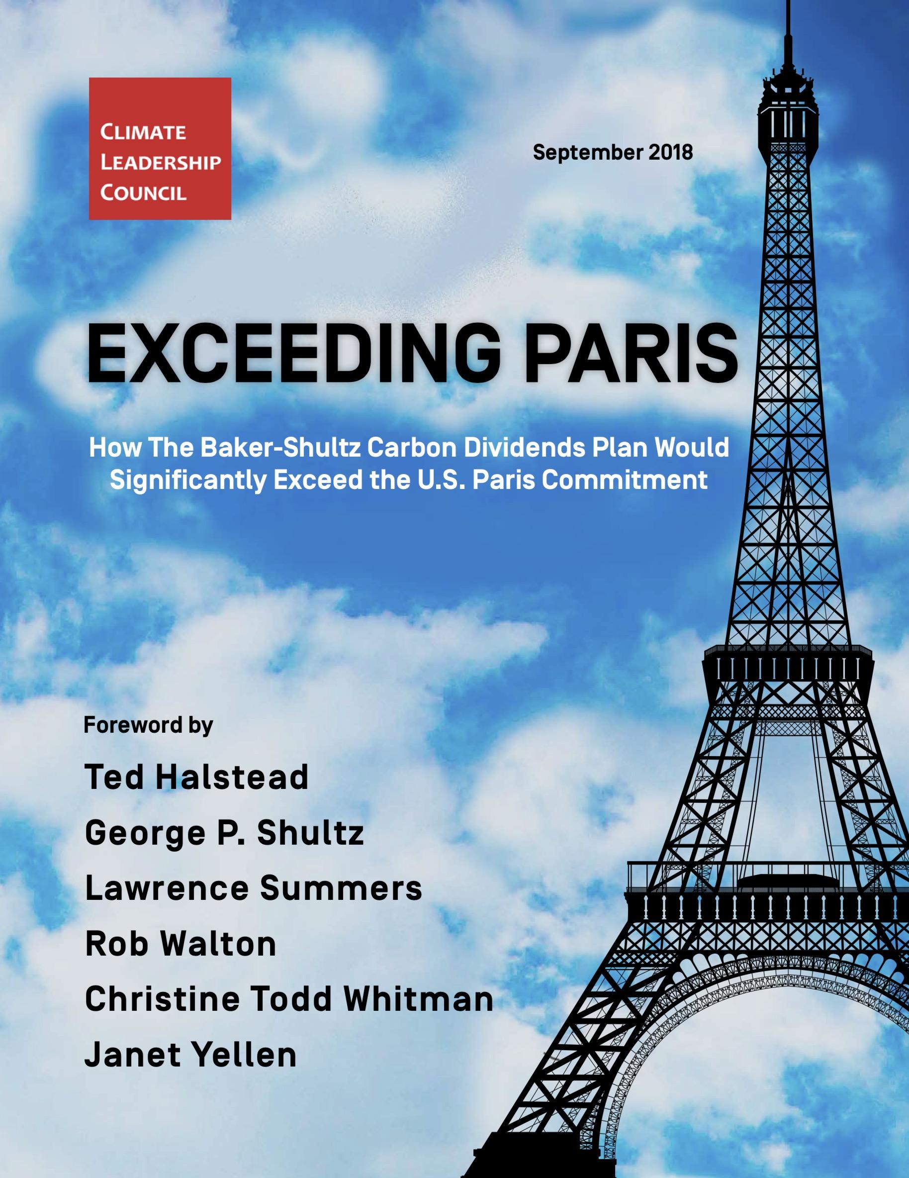 exceeding paris - the baker schultz plan