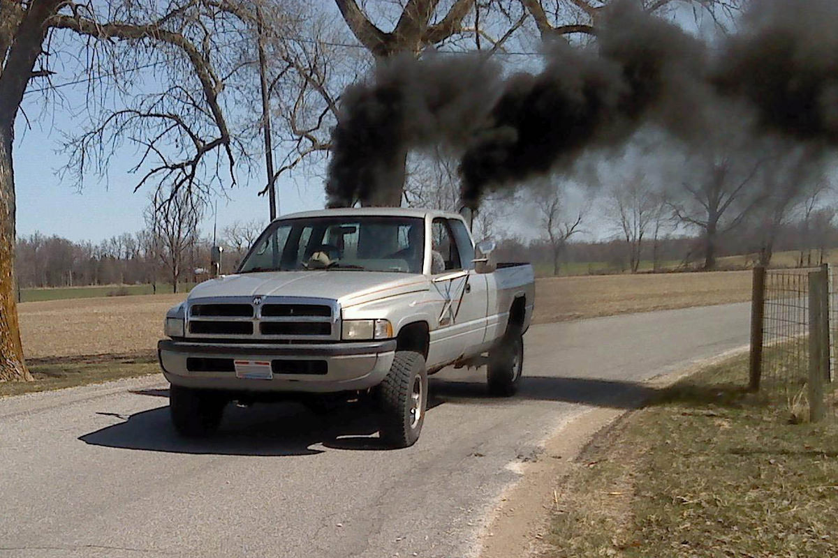 rolling coal fossil fuel vehicle Ohio Coal Rollers