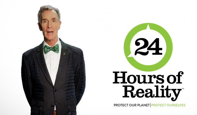 Bill Nye joins Climate Reality Project for their 24 hours of climate action December 3-4