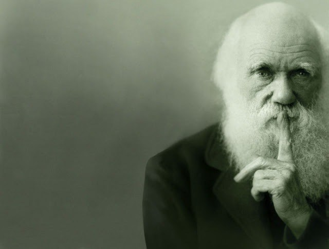 charles Darwin. Evolution doesn't deal with climate change equally