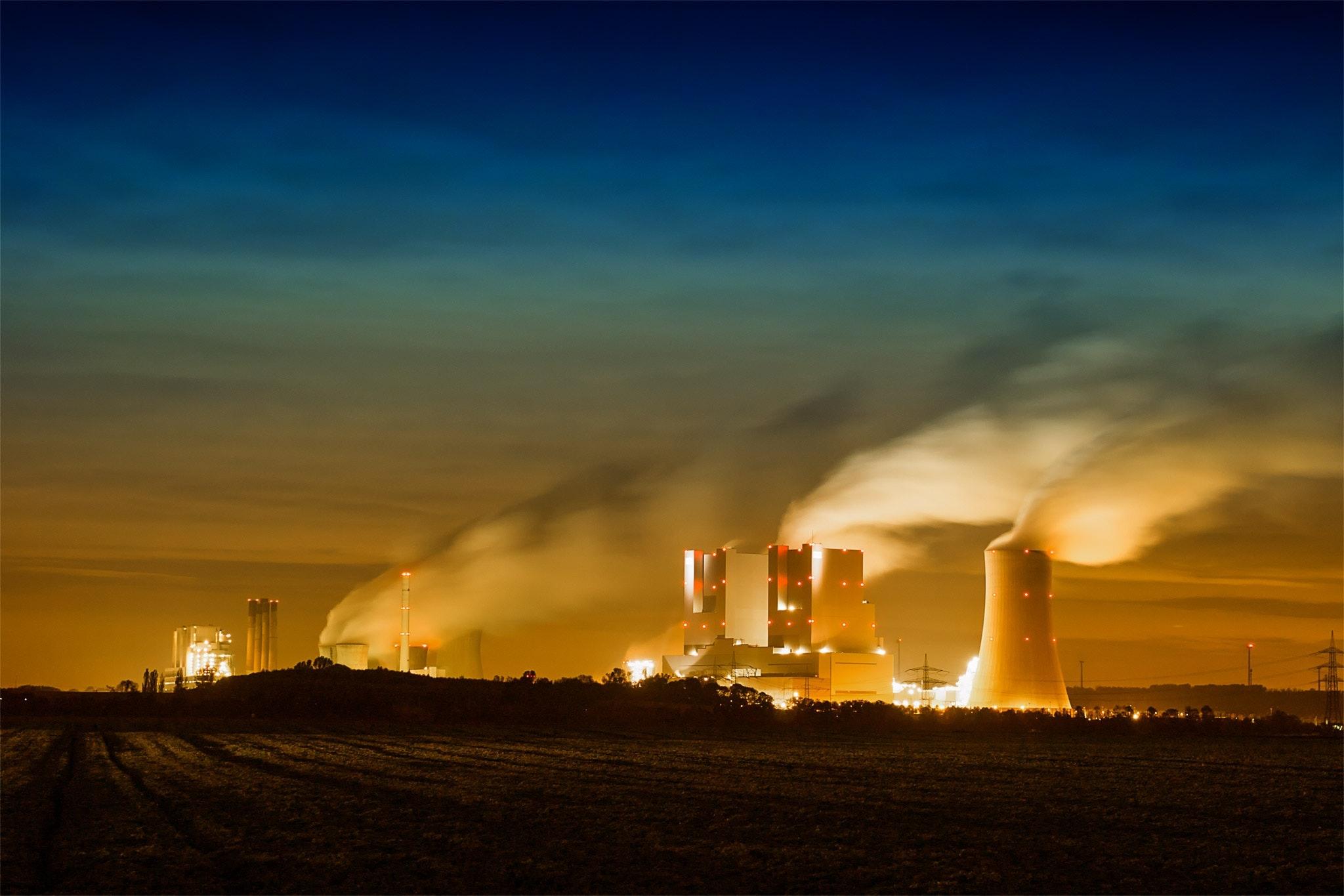 fossil fuels coal plant