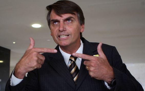 Brazilian populist Jair Bolsonaro