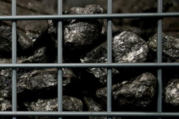 Coal on display at COP24