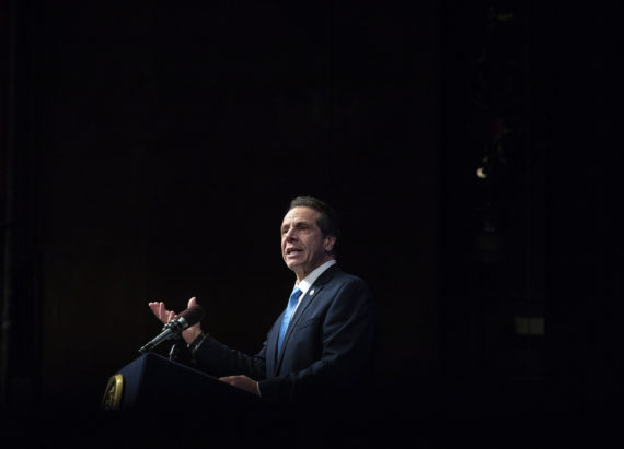 NY Governor Andrew Cuomo has mammoth plans for wind and solar energy